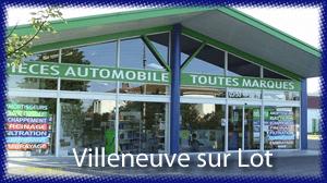 Capdeville Auto Equipements de l'automobile pièces détachées auto Villeneuve sur lot